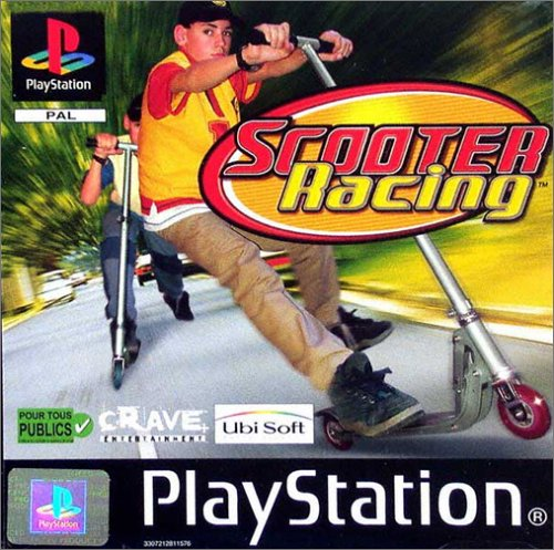 PS Scooter racing - Playstation - PAL NEW