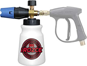 "irozce Pressure Washer Foam Cannon, Big Mouth High Pressure 34 Ounce Bottle Snow Foam Lance with 1/4"" Brass Quick Connector for 4000PSI"