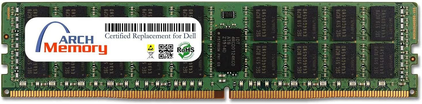 Arch Memory Replacement for Dell SNPCPC7GC/32G A8711888 32 GB 288-Pin DDR4 ECC RDIMM Server RAM for Precision Workstation T7810