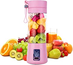 Clomana® Personal Mini Automatic Rechargeable Juicer Bottle Blender for Shakes, Smoothies & Juice (Multi Color)