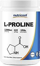 Nutricost L-Proline Powder 250 Grams - 2,000mg Per Serving, Non-GMO