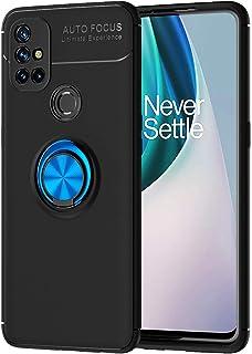 جراب DAMONDY لهاتف OnePlus Nord N10 5G، حامل حلقي 360 رفيع ناعم مع مسند 360 مسند للرجال والنساء، غطاء خلفي متوافق مع OnePl...