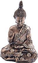Prettyia Mini Southeast Asian Buddha Sculpture Statue Joss Buddha for Table Decoration