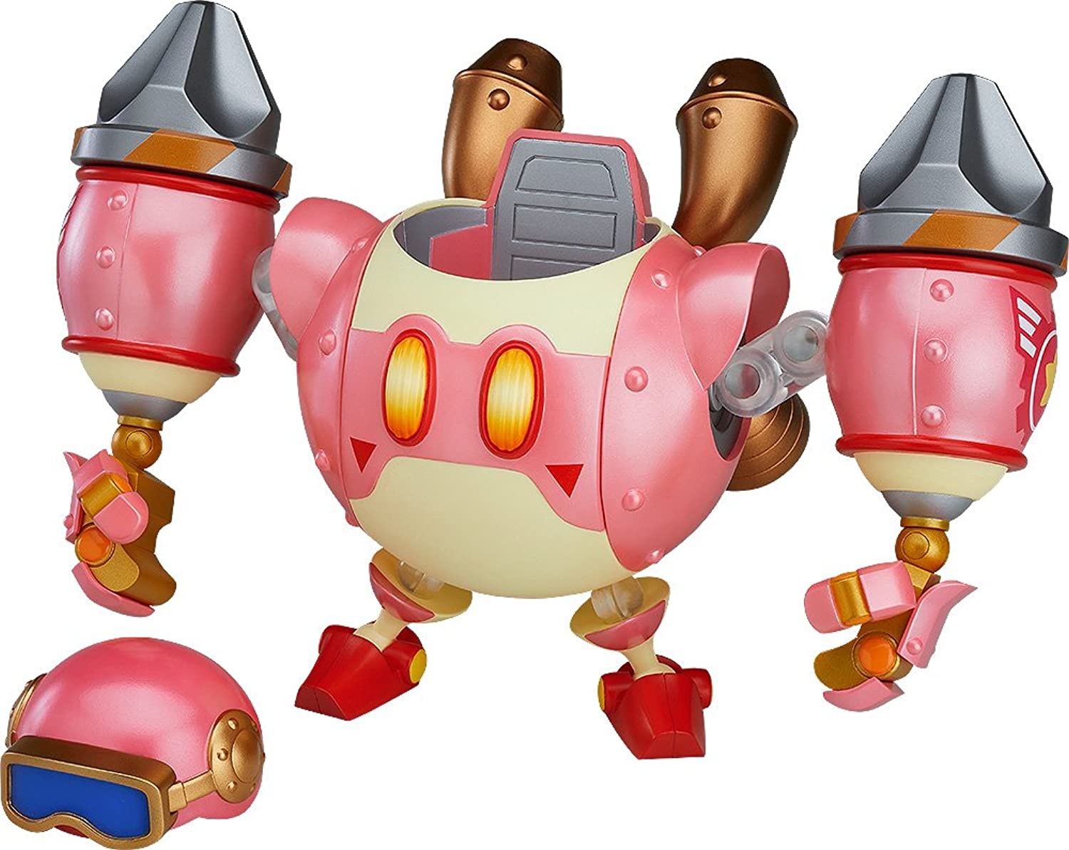Good Smile Company G90452 Kirby Planet Nendgoldid More Robobot Armor Figure, 6 inches