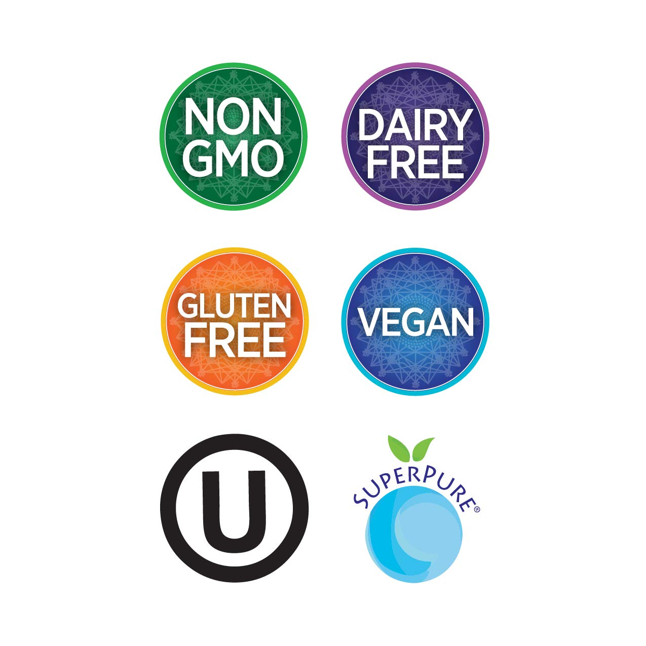 Pure Synergy SuperPure Beta 1,3-Glucan Extract   60 Capsules   Non-GMO   Vegan   Algae-Based, Yeast-Free, 500 mg, Beta Glucan Supplement