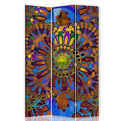 F FEEBY WALL DECOR Biombo Decorativo Mandala 3 Paneles