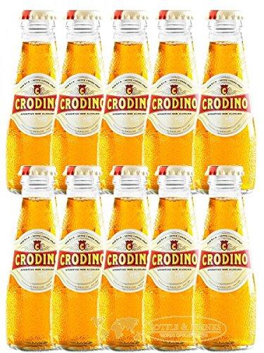 CRODINO Aperitiv ohne Alkohol - 10 x 9,8 cl