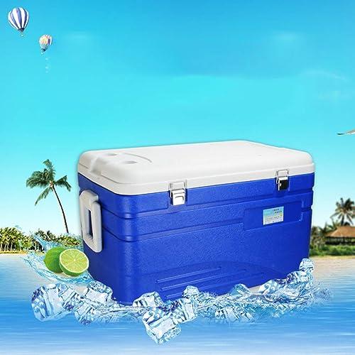 ZLL Glacière pour glacière rigide à fermeture à glissière Deep Freeze Box 110L de voiture - Boisson à la bière isolante et perforhommete pour le camping, les barbecues et les activités de plein air