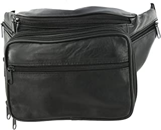 Genuine Leather Fanny Pack Cellphone Holder Organizer By Silver Fever