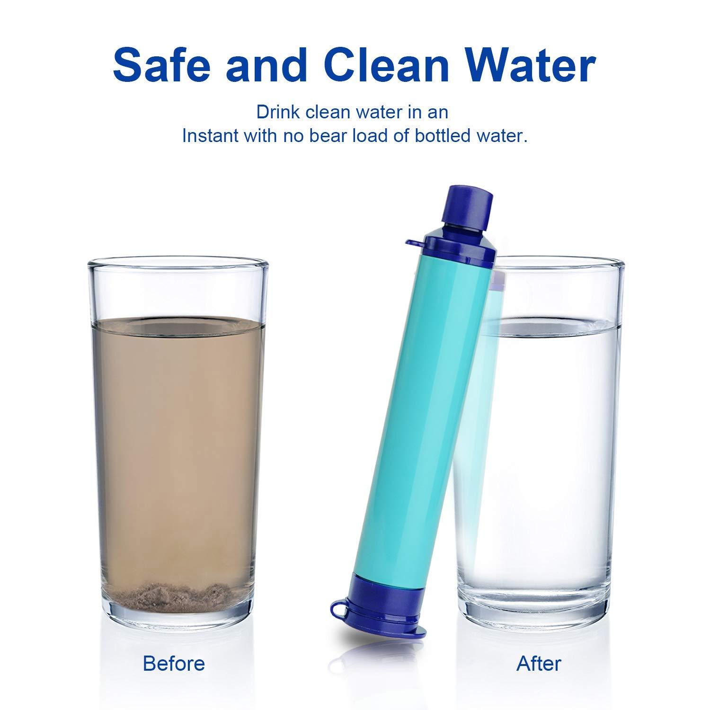 Filtro De Agua Personal Sistema De FiltracióN Botella Filtrada ...