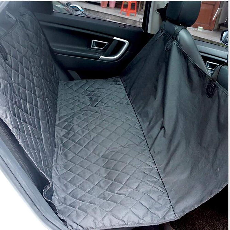 Dog Hammock, Car Seat Cover for Dog, WaterProof Predector for Pet Rear Seat Cover, for Cars SUV and Trucks