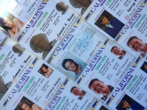 Zurück in die Zukunft Kollektion von 5Neuheit ID Karten