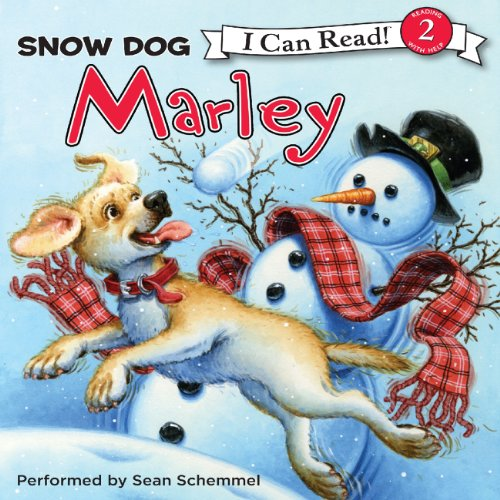 Marley: Snow Dog Marley audiobook cover art