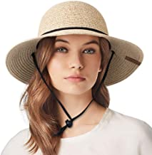 Best straw sun hat with chin strap Reviews