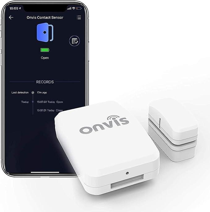 85 opinioni per Sensore di Contatto Porta/Finestra Onvis CT2, Funziona con HomeKit Apple