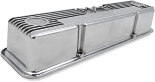 Holley 241-82 M/T Polished Valve Cover for SB Chevy