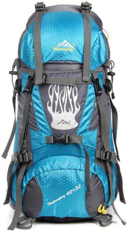 Emmala Professionelle Bergsteigen Tasche Im Freien Rucksack Camping Wandern 45L Stilvolle Unikat Trekking Rucksack Mnner Casual Trendy Classic Erwachsene Daypacks (Farbe   Blau, Größe   One Größe)