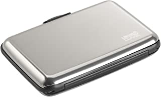 Lewis N. Clark Rfid Aluminum Wallet, Silver, One Size