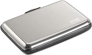 Lewis N. Clark Rfid Aluminum Wallet, Silver, One Size