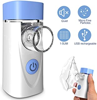 Portable Handheld Humidifier Mini Vaporizer Machine Travel Steam Personal for Kids and Adult, Home Daily Use