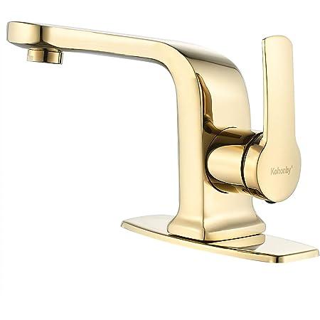 Polished Chrome Centerset Bathroom Faucet Kingston Brass KB2151B 4 in