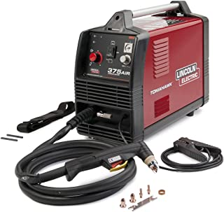 Lincoln Electric Tomahawk 375 Air Plasma Cutter, 208-230 Volt With LC25 Hand Torch And 10' Leads