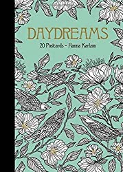Dagdrömmar Daydreams colouring postcards by hanna karlzon