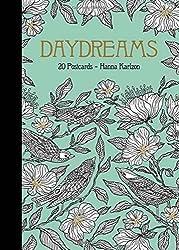 Dagdrömmar Daydreams colouring postcards by hanna karlzon