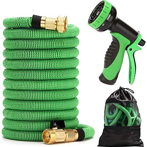 Jardinería 30M manguera de jardín extensible flexible anti-fuga de agua de la manguera de tubo de 3/4' 1/2' Conexiones 9 Función Spray for Plantas de riego Yard Herramienta de riego del coche (color: