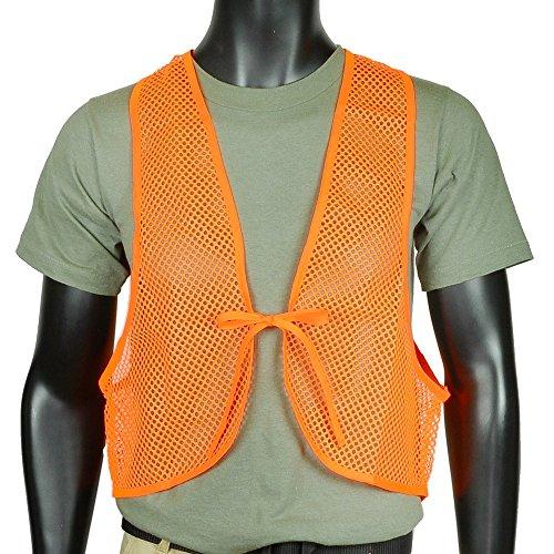 Allen Hunter's Orange Mesh Sicherheitsweste