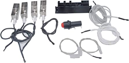 Broilmann BBQ Grill Igniter Kit for Summit Gold/Platinum D/D6, Weber # 42326 (Does NOT Include Side/AUX Burner Components)