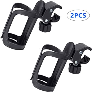 Allnice 2 Pack Bike Bottle Cages Bicycle Cup Holder Universal 360 Degrees Rotation Cycling Water Bottle Holder Bracket for Bicycle Road Bikes Mountain Bike Baby Stroller and Motorcycle