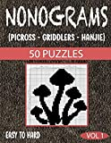 Nonograms Picross Griddlers Hanjie: Nonograms Book Logic Pic Griddler Games Japanese Puzzles Picross Games Logic Grid Puzzles Hanjie Puzzle Books Logic Puzzles Book Gift Idea for Adults Men Women
