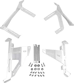 Factory Effex 11-71232 White Plastic Radiator Shroud