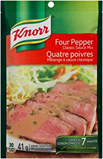 Knorr Four Pepper Classic Sauce Mix 41g Pack of 12