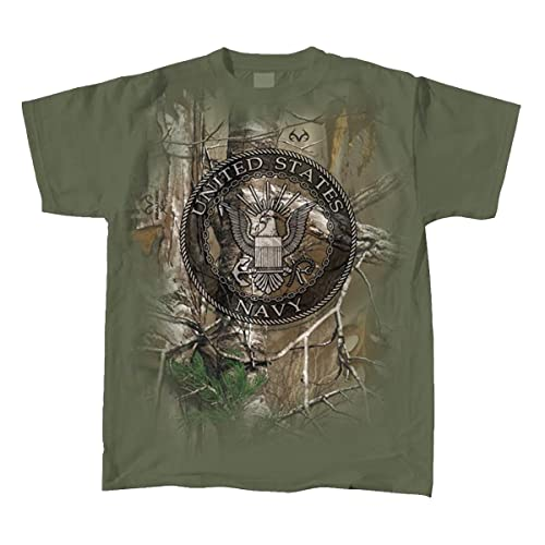Realtree United States Navy Seal T-Shirt fe4929f342e