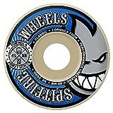 Spitfire Wheels Fórmula cuatro Forty Niners ruedas de skateboard (99du Blanco 49mm