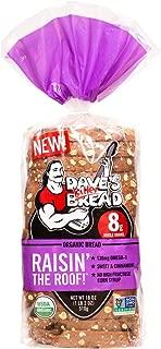 RAISIN THE ROOF ORGANIC BREAD (Sweet & Cinnamony) 18oz Loaf