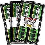 A-Tech 24GB (6 x 4GB) DDR3 1600 MHz PC3-12800R ECC RDIMM 1Rx4 1.5V ECC Registered DIMM 240-Pin Server & Workstation RAM Memory Upgrade Kit