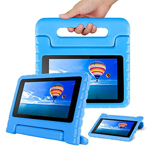 2e177d605f25 CAM-ULATA Case for Amazon Fire 7 Tablet Case for Kids 2017 2015 Shockproof  Kid