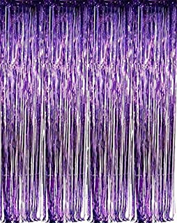 Best purple and silver party theme Reviews