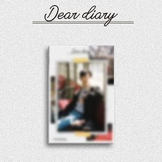 YOON JISUNG [Dear Diary]-Special Album Kihno Kit+12p Photo Card K-POP Wanna One