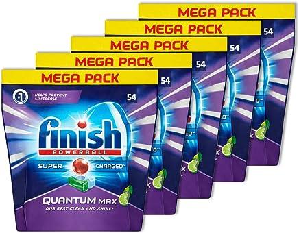 270PK Finish Tabs Apple/Lime Quantum Max Tablets for Dishwasher Dishwashing
