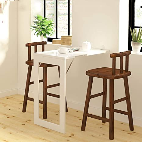 Amazon.com: Folding Dining Table Wall-Mounted Fold Up Table for