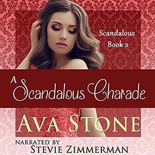 A Scandalous Charade: Scandalous Series, Book 2 - Volume 2 audiobook cover art