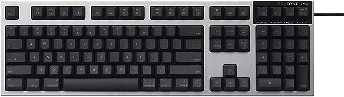 REALFORCE Mac フルキーボード 英語配列(ブラック)