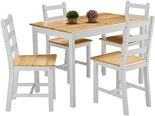 Furniture Uk Shop Ensemble Table En Bois 4 Chaises Pour Salle A Manger