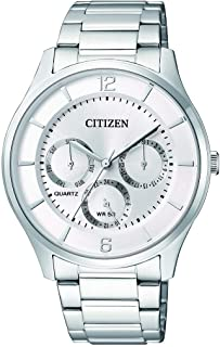 CITIZEN Men's Quartz Watch, Analog Display and Stainless Steel Strap AG8351-86A