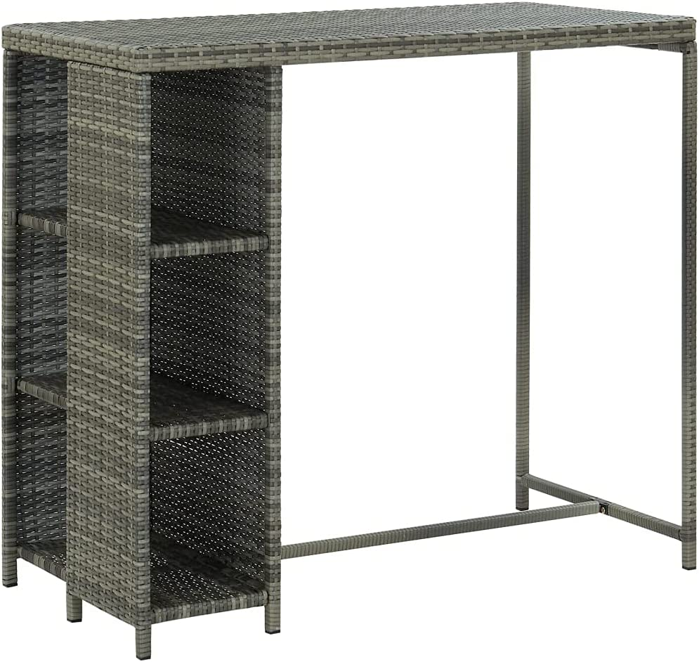 Poly Rattan Furniture Dining Counter Indo San Francisco Ranking TOP20 Mall Table Bar