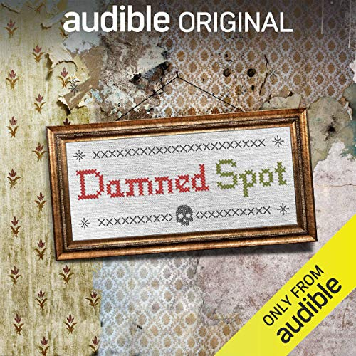 Damned Spot audiobook cover art